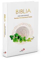 Biblia Pamiątka Pierwszej Komunii Świętej
