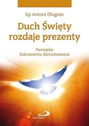 Duch Święty rozdaje prezenty (gołębica)