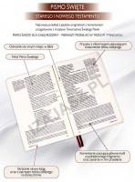 Pismo Święte Starego iNowego Testamentu zpaginatorami [DUŻY FORMAT]