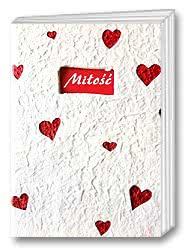 Miłość - papier czerpany