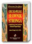 Grecko-polski s�ownik Stronga